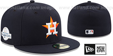 Astros '2017 WORLD SERIES' CHAMPIONS HOME Hat by New Era