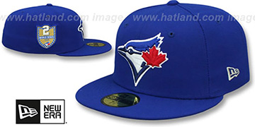Blue Jays 'GOLDEN-HIT' Royal Fitted Hat by New Era