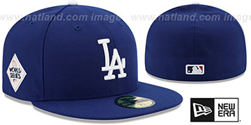 Dodgers '2017 WORLD SERIES' GAME Hat by New Era