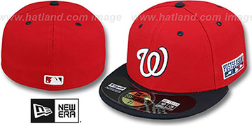 Nationals '2014 PLAYOFF ALTERNATE-2' Hat by New Era