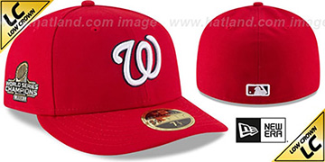 Nationals '2019 LC WORLD SERIES' GAME CHAMPIONS Fitted Hat by New Era