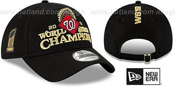 Nationals '2019 WORLD SERIES' CHAMPS LOCKER ROOM Strapback Hat by New Era