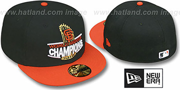 SF Giants 2010 'TROPHY CHAMPIONS' Hat by New Era
