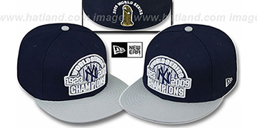 Yankees 1923-2009 'WS CHAMPIONS' Hat by New Era
