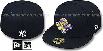 Yankees 1996 'CHAMPIONS PATCH' Navy Fitted Hat by New Era