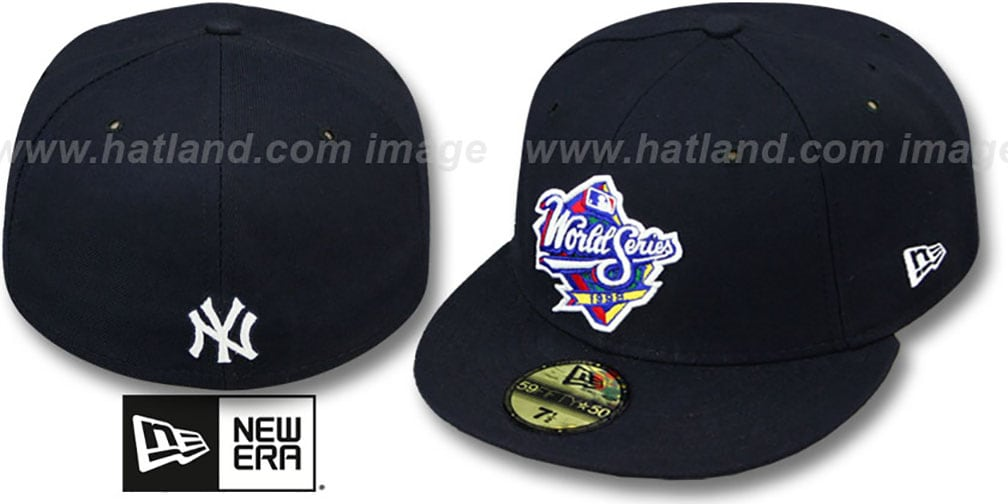 Yankees 1998 'CHAMPIONS PATCH' Navy Fitted Hat by New Era
